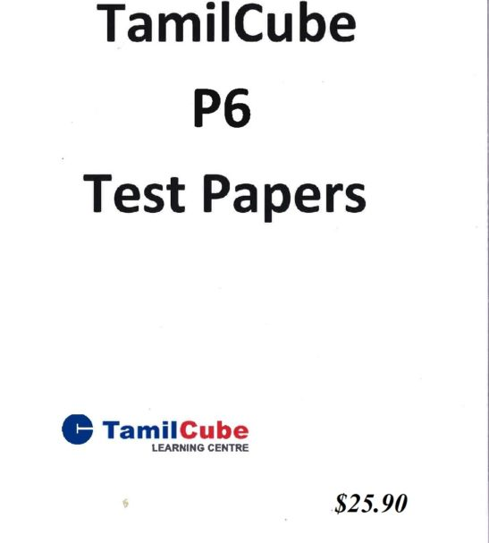 Primary 6 Tamil test papers